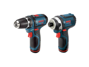 Factory-Reconditioned CLPK22-120-RT 12V Max Cordless Lithium-Ion 3/8 in. Drill Driver and Impact Driver Combo Kit