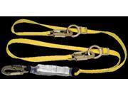 MSA Workman Twin Leg Shock-Absorbing Tie-Back Lanyard