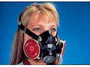 MSA Large Black Silicone Comfo Classic Half Mask Facepiece 9SIA11B0AA0687