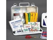 6 Person Vehicle First Aid Kit In Metal Case