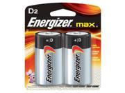 Eveready Energizer Max D Alkaline Battery