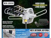 BoostWaves Rotating Amplified HD Digital Outdoor HDTV Antenna Motorized WA-2608