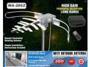 BoostWaves WA-2802 Outdoor Antenna - Parabolic Focusing 360 Degree Rotation