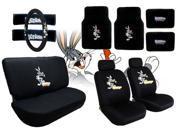 Bugs Bunny Seat Covers & Floor Mats Set – 15pc -  Looney Tunes