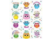 Carson Dellosa Colorful Owl Motivators Motivational Stickers