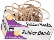 Charles Leonard Rubber Bands in a Tissue-style Box - #18, Beige/Natural