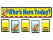 Attendance Replace Pocket Chart Cards