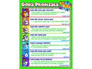 Carson Dellosa Christian God's Promises for Kids Chart (6363)