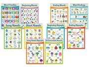 Chevron English Language Arts Skills Bulletin Board Set