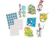 Eureka Dr. Seuss Reading Goal Kit Bulletin Board Set, 4 Panels 17 x 24