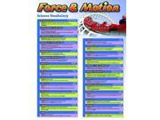 Science Vocabulary: Force and Motion Chart