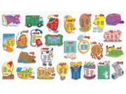Scholastic Teacher's Friend Word Families Word Banks Big Bulletin Board (TF3125)