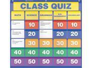 Scholastic Teacher's Friend Class Quiz Pocket Chart, Multiple Colors (TF5116)