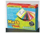 Edupress Math In a Flash Addition Flash Cards 9SIA11U1NE9022