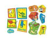 Eureka Large Dr Seuss 2-Sided Decorating Kit - Fish Fox and Sam