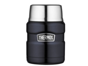 Thermos Stainless King Vacuum Insulated Food Jar - 16 oz. - Stainless Steel/Midn