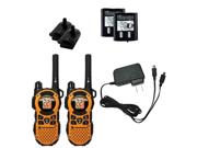 Motorola MT350R 35-Mile Range 22-Channel FRS/GMRS Two-Way Walkie Talkie Radios