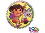 50 Wilton DORA THE EXPLORER BAKING CUPS Cupcake Party 9SIA0BS2Z42618