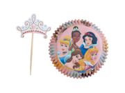 24 Wilton Disney Princess Pack Cupcake Baking Cups 9SIV01U7127937