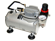 Mini Airbrush Compressor With Water Trap,Regulator,Gauge