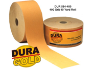 "DURA-GOLD 400 Grit 2-3/4"" PSA Roll Longboard Sandpaper Block Sand Sander"
