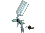 New 2.5mm HVLP Gravity Feed SPRAY GUN w/ REGULATOR Auto Paint Primer Metal Flake 9SIA12E0M49592