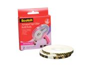 "Scotch Advanced Tape Glider Refills 1/4""x36 Yards 2-Pk"
