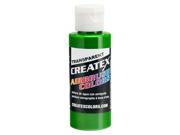 Image of 4oz CREATEX Tropical Green Transparent 5116-4Z Airbrush