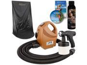 Belloccio Sunless Airbrush SPRAY TANNING SYSTEM Opulence Solution Curtain Tent