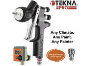 New Devilbiss TEKNA PRO High Efficiency SPRAY GUN 1.2 1.3 1.4 TIPS DeKups Ready
