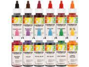 Chefmaster by US Cake Supply 2.3-Ounce Liqua-Gel Cake Food Coloring Variety Pack