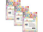 US Art Supply® Jewelescent® - 144 Pens 48 Color Gel Pen Set - Professional Artist Quality Gel Ink Pens in Vibrant Colors
