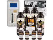 Raptor Dakota Brown Urethane Spray On Truck Bed Liner Roller Tray Brush4 Liters