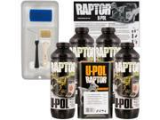 Raptor Tintable Urethane Spray On Truck Bed Liner Kit Tray Brush 4 Liters