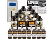 Raptor Dakota Brown Urethane Spray On Truck Bed Liner Roller Tray Brush8 Liters