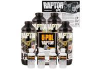 Raptor GM White Urethane Spray On Truck Bed Liner Texture Coating 4 Liters