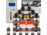 Raptor Dakota Brown Urethane Spray On Truck Bed Liner Roller Tray Brush6 Liters