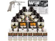 Raptor Shoreline Beige Urethane Spray On Truck Bed Liner Spray Gun 8 Liters