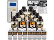 Raptor Dove Gray Urethane Spray On Truck Bed Liner Roller Tray Brush8 Liters
