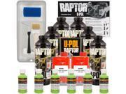 Raptor Lime Green Urethane Spray On Truck Bed Liner Roller Tray Brush6 Liters