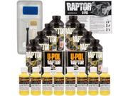 Raptor Safety Yellow Urethane Spray On Truck Bed Liner Roller Tray Brush8 Liters