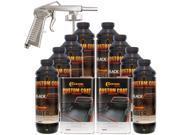 Bed Liner CUSTOM COAT BLACK 8-L Urethane Spray-On Truck Kit w/ FREE Spray Gun