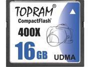 TOPRAM 16GB CF 16G CF CompactFlash Card Compact Flash 400X