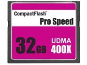 3C Pro 32GB CF 32G CF CompactFlash Card Compact Flash UDMA 400X