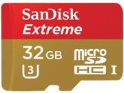 SanDisk 32GB 32G microSDHC EXTREME 90MB/s microSD micro SD SDHC UHS-I U3 4K Class 10 C10 memory Card SDSQXNE-032G with USB 2.0 OTG Card Reader