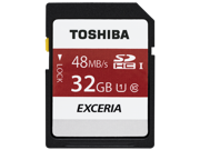 Toshiba 32GB SD EXCERIA 48MB/s UHS-I U1 Class 10 C10 32G SDHC memory card with plastic case