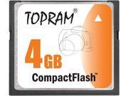 TOPRAM 4GB CF 4G CompactFlash Card Compact Flash Flash - Bulk - OEM