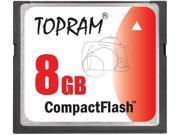 TOPRAM 8GB CF 8G CF Compact Flash CompactFlash Card