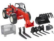 Bruder Manitou Telescopic Loader MLT 633 with Accessories 9SIV16A67P8871