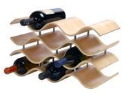 Oenophilia Bali 10 Bottle Wine Rack in Natural